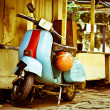 Old Moped — Stock Photo #6667033