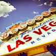 Stock Photo: Vegas retro