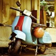 Old Moped — Stock Photo