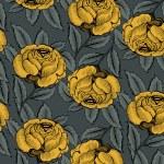 Rose flower pattern — Stock Vector