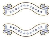 Vintage ribbon emblem — Stock Vector