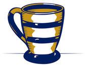 Ceramic mug — Stock Vector