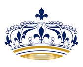 Retro king crown — Stock Vector