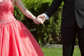 Prom Date — Stock Photo