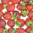 Stock Photo: Fresh garden strawberry background