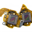 Stock Photo: RGB sensors from digital camermacro
