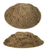 土壤堆肥为植物登陆设置 — 图库照片