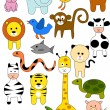 Royalty-Free Stock Vector Image: Animal doodle