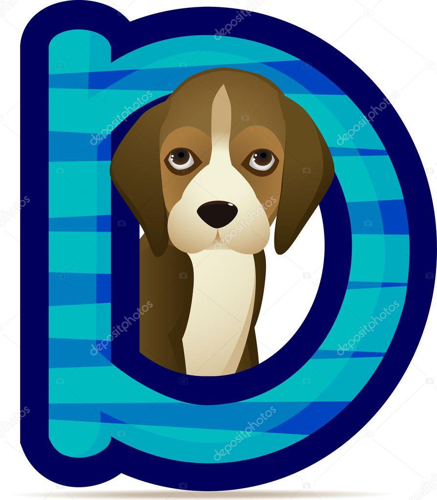 Cute Dog Cartoon Stock Vector Surya Ali Zaidan 5078148 ...