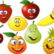 Fruit character — Stock Vector