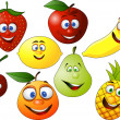 Fruit character - Stock Vector