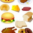 Food vector — Stock Vector