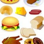 Food vector — Stock Vector