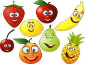 Caractère de fruits — Vecteur