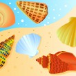 Sea shell — Image vectorielle