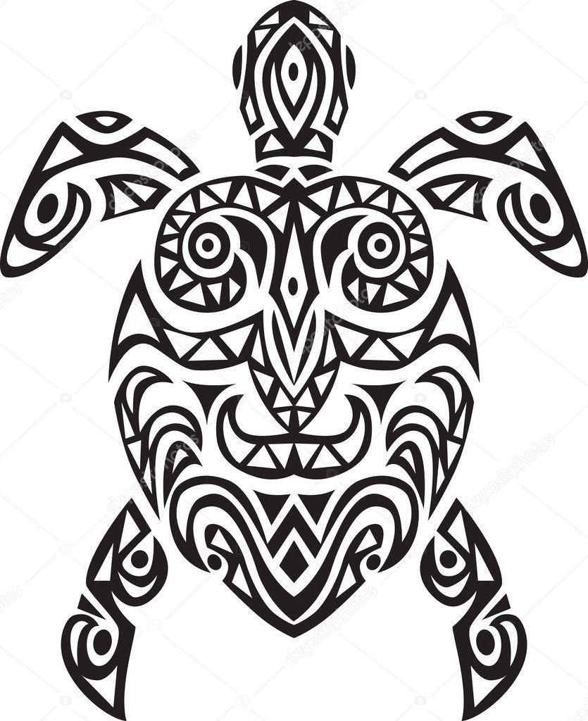 Tribal Turtle Tattoos