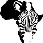 Zebra silhouette — Stock Vector #5587379