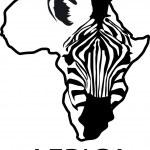 Zebra silhouette — Stock Vector #5587411