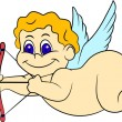 Cute cupid — Stock Vector #5589010