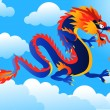 Royalty-Free Stock Vector Image: Chinese dragon