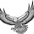 Eagle vector - Vettoriali Stock 