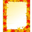 Autumn background - Imagen vectorial