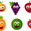 Funny fruit character — Stock Vector #5604361