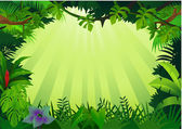 Forest background — Stock Vector