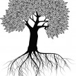Tree silhouette — Stock Vector #5746913