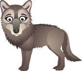 Wolf vector — Stock Vector
