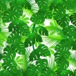 Green leaf background — Image vectorielle