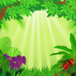 Forest background — Image vectorielle
