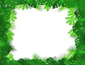 Tropical forest background — Vecteur
