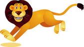 Lion cartoon — Stock Vector