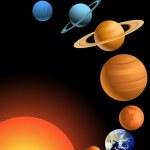Solar system — Stock Vector #6082568