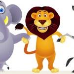 Animal cartoon — Stock Vector #6114083