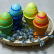 easter eggs — Stock Photo #5381076