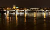 Bridge by night — Stock Photo