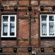 Stock Photo: Half-timbered wall with window
