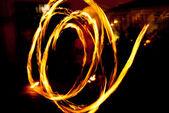 Firedancer — Zdjęcie stockowe