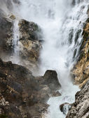 Big waterfall — Stock Photo