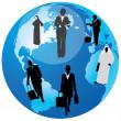 International Business.Vector — Stock Vector