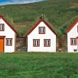 Stock Photo: Iceland historic houses