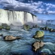 Stock Photo: Iguacu falls