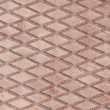 Old metal diamond plate texture — Stock Photo