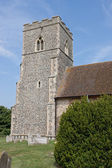 Flint Church Tower — Stock Photo