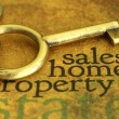 Royalty-Free Stock Photo: Sales home property