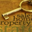 Stock Photo: Sales home property