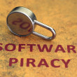 Software piracy — Stock Photo #6243628