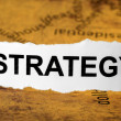 Royalty-Free Stock Photo: Strategy concept